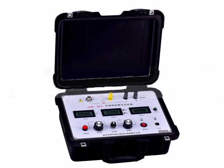 GM-5kV 可調高壓數字兆歐表