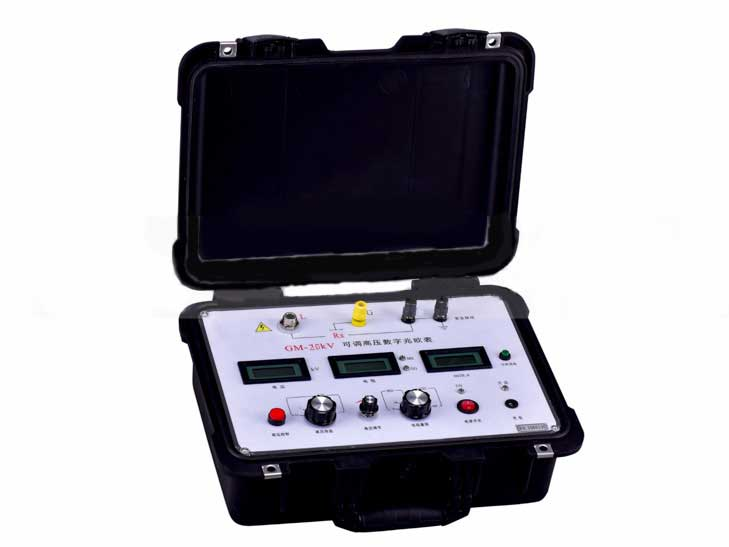 GM-20kV 可調高壓數字兆歐表